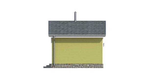 Фасад тёплого дома Хлоя из двойного минибруса - 2