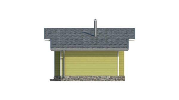 Двойной дом из двойного минибруса Лея фасад