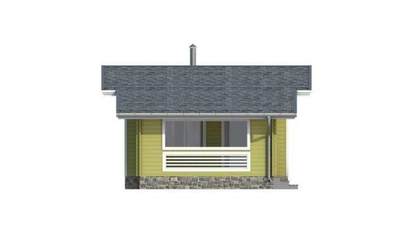 Двойной дом из двойного минибруса Лея фасад 2