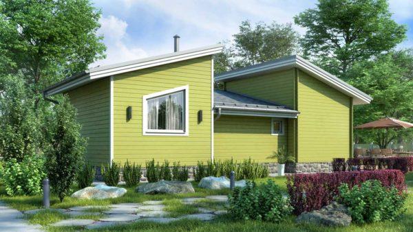 Двойной дом - из двойного минибруса Хлоя