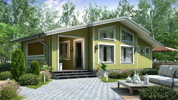 Двойной дом из двойного минибруса Лея
