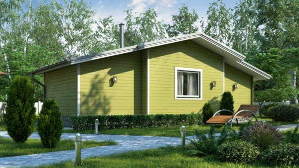 Двойной дом из двойного минибруса Лея фото